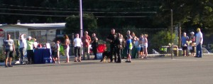 Neighbors at this years 2014 NNO event at Briarwood School